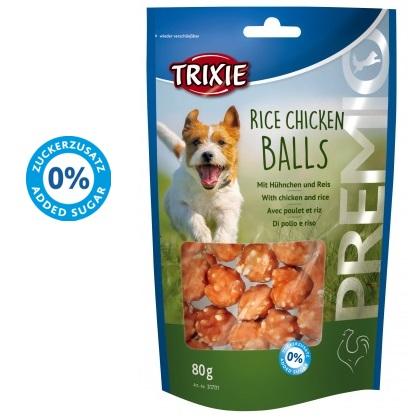 λιχουδια σκυλου Trixie Premio rice chicken balls με κοτοπουλο
