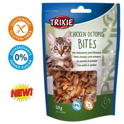 0bb9193461f9 σνακ λιχουδια γατας Trixie premio chicken octapus με κοτοπουλο και χταποδι