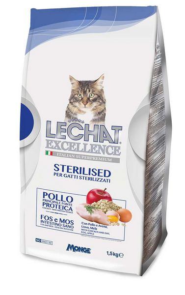 superpremium τροφες Monge για στειρωμενες γατες Le chat Excellence σε τιμη προσφορας