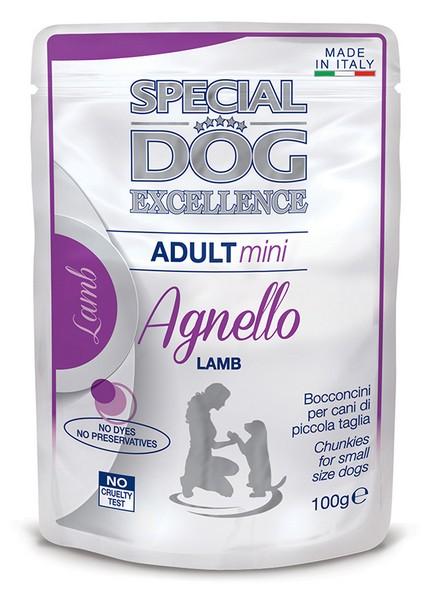 φακελακι υγρη τροφη σκυλου superpremium Monge Special Dog Excellence με αρνι