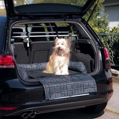 κρεβατι αυτοκινητου σκυλων Trixie Checked car bed καλυμμα πορτμπαγκαζ
