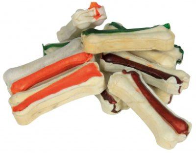 κοκκαλα σκυλου χρωματιστα Trixie Dog Snack mini chewing bones