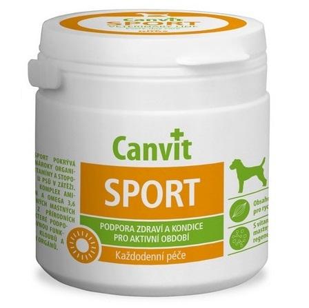συμπληρωμα διατροφης για δραστηριους σκυλους βιταμινες Canvit Sport για περιοδους εντονης ασκησης και κυνηγιου