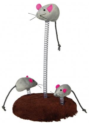 παιχνιδι γατας ποντικια σε σπιραλ Trixie Cat Toy