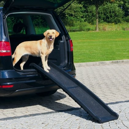 trixie πλαστικη αυτοκινητου ραμπα για σκυλους & για κρεβατι καναπε της Trixie
