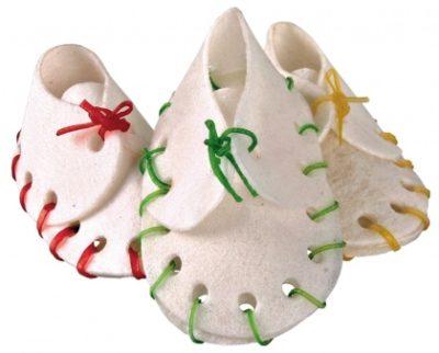 μασωμενα παπουτσακια κοκκαλα σκυλου Trixie Snack Chewing Shoes