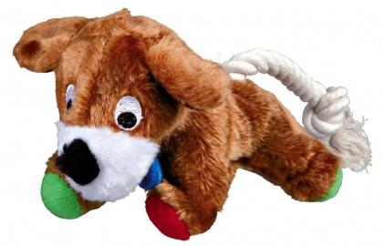 παιχνιδι για σκυλους Trixie Stuffed dog σκυλος σε σχοινι