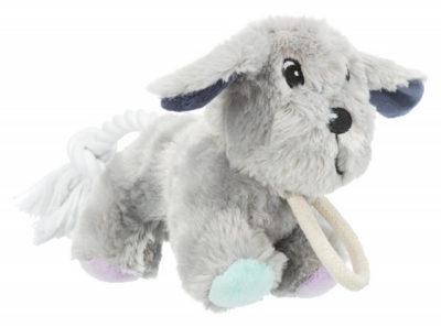 Παιχνιδι για σκυλους Trixie Junior plush σκυλος σε σχοινι