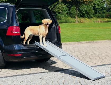 Trixie ραμπα σκυλου τηλεσκοπικη αλουμινιου για αυτοκινητο