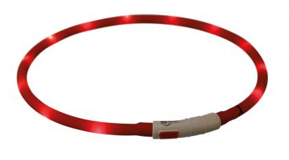 Τα Trixie USB flash lightring - φωτιζομενα επαναφορτιζομενα περιλαιμια σκυλων