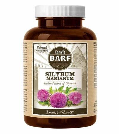 συμπληρωμα Canvit Silybum Marianum διατροφης για προστασια του ηπατος σκυλου βιταμινες γατας