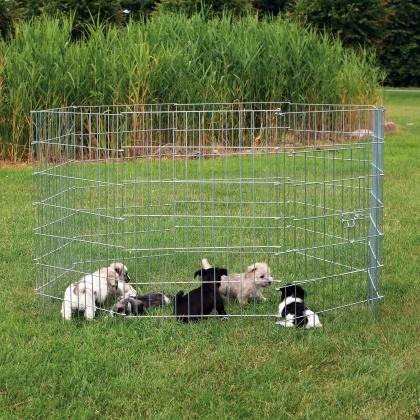 μεταλλικη περιφραξη για κουταβια Trixie Puppy Run