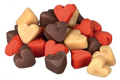 μινι σνακ λιχουδιες σκυλων Trixie Trainer snack Mini Hearts
