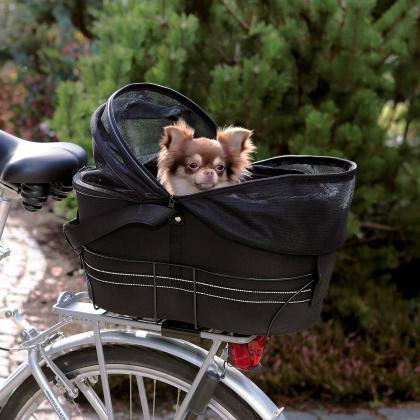 Trixie τσαντα μεταφορας σε σχαρα ποδηλατου για σκυλους