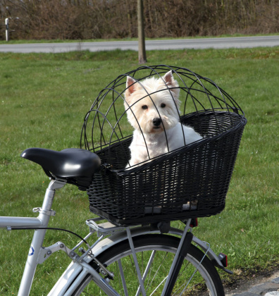 Trixie ψαθινο καλαθακι μεταφορας για σχαρα ποδηλατου σκυλων