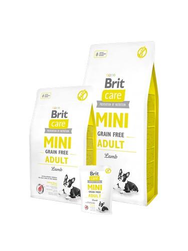 New Brit care Mini Grain Free Lamb υπαολλεργικη τροφη για ρατσες μικροσωμων σκυλων με αρνι