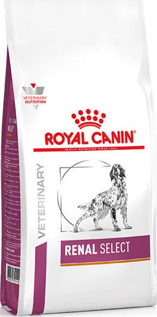 Royal Canin Renal Select κλινικη διαιτα για νεφρικη ανεπαρκεια για σκυλους