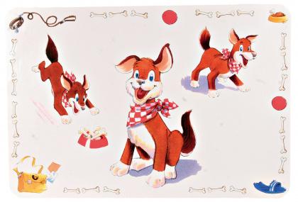 ΤοTrixie μεγαλο σουπλα για σκυλους Comic Dog