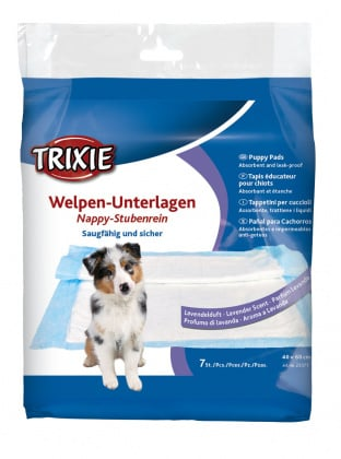 Trixie πανες σκυλωνεκπαιδευση τουαλετα για κουταβια αρωμα λεβαντας