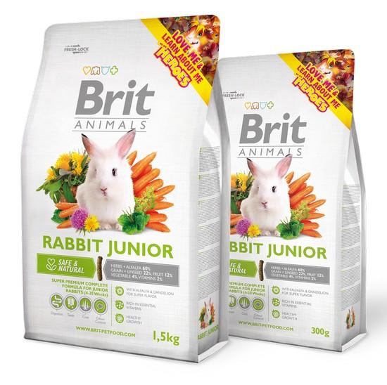superpremium τροφη για κουνελι Brit Animals για νεαρα κουνελια