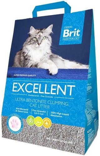 Αμμος για γατες Brit Excellent απο μπεντονιτη