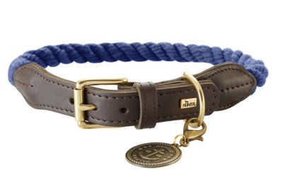 Hunter List απο δερμα και σχοινι περιλαιμια σκυλου κολαρα