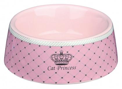Trixie Princess κεραμικο πιατο γατας πολυτελειας