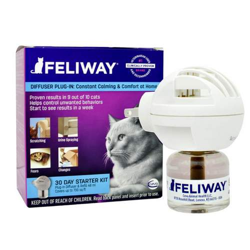 Feliway Classic Diffuser γατας - δημιουργια περιβαλλοντος ηρεμιας στη γατα
