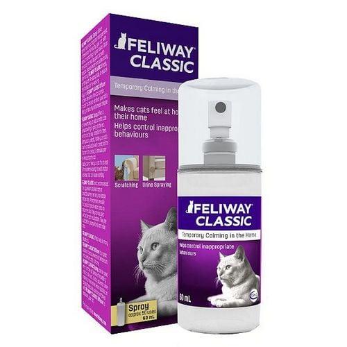 Feliway Spray για γατες - βοηθα στην ηρεμιση της γατας