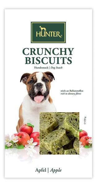 Hunter μπισκοτα σκυλου Reward Crunchy Biscuits με μηλο