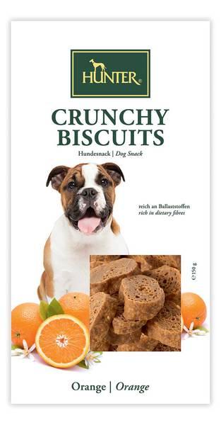 Hunter μπισκοτα σκυλων Reward Crunchy Biscuits με πορτοκαλι