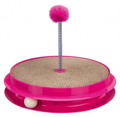 Trixie scratch catchπαιχνιδι για γατες κυκλικο με χαρτινο ονυχοδρομιο