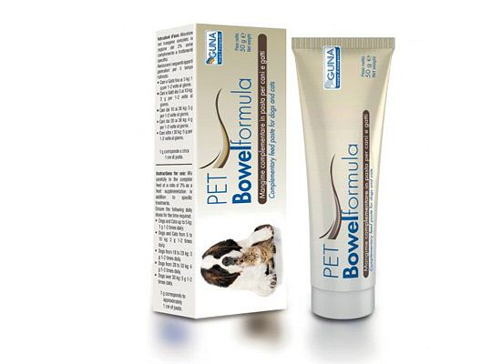Pet Bowel formula - Guna σκυλου συμπληρωματα διατροφης γατας - δυσκοιλιοτητα