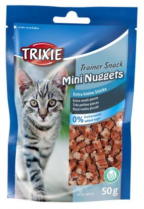ΗΛιχουδια σνακ γατας για εκπαιδευση Trixie Trainer mini nuggets