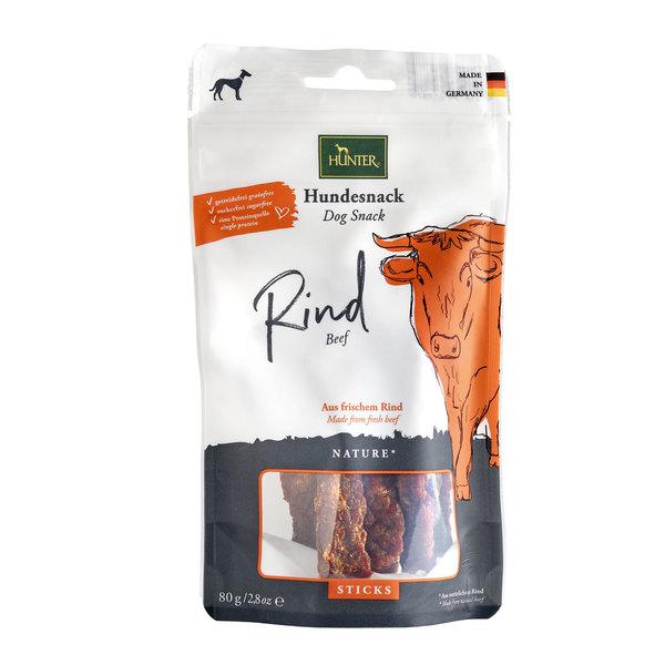 Hunter Reward Nature Sticks σνακ σκυλων λιχουδιες υψηλης ποιοτητας απο φρεσκο κρεας μοσχαρι μονοπρωτεινικα