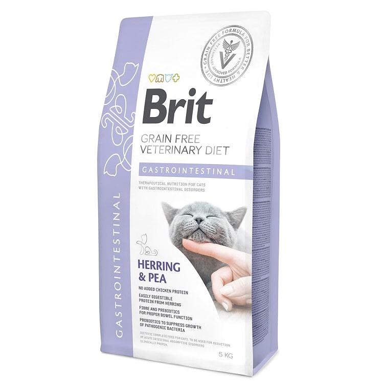 οι Brit κλινικες διαιτες για γατες Gastrointestinal για γαστρεντεριτιδα - διαρροια γατας - εμετο