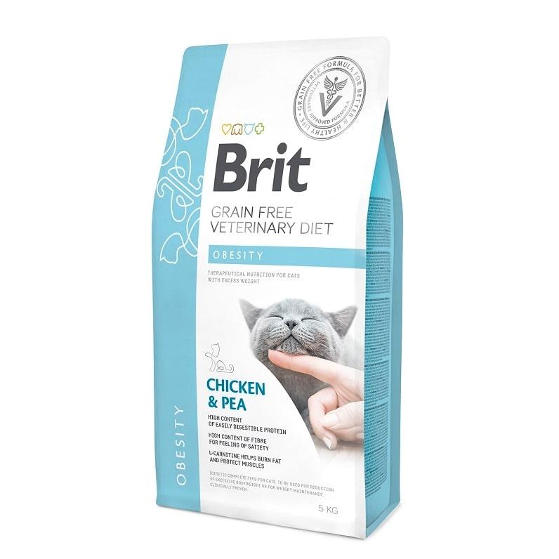 Brit Obesity κλινικη διαιτα γατας τροφη για χασιμο βαρους υπερβαρες γατες