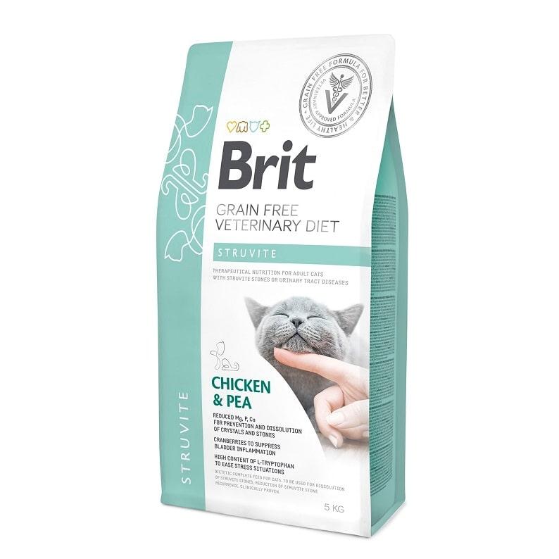 ΗBrit κλινικη διαιτα γατας Struvite για ουρολιθιαση