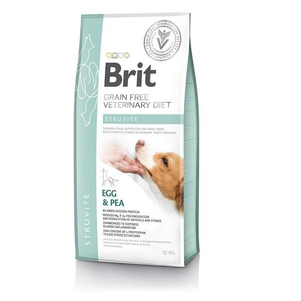 ΗBrit Struvite Veterinary κλινικη διαιτα σκυλου Grain Free για διάλυση στρουβιτη - ουρολιθιαση