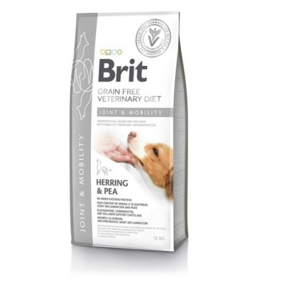 Brit Joint Mobility Veterinary κλινικες διαιτες σκυλων Grain Free για οστεοαρθριτιδα - σκελετικα προβληματα