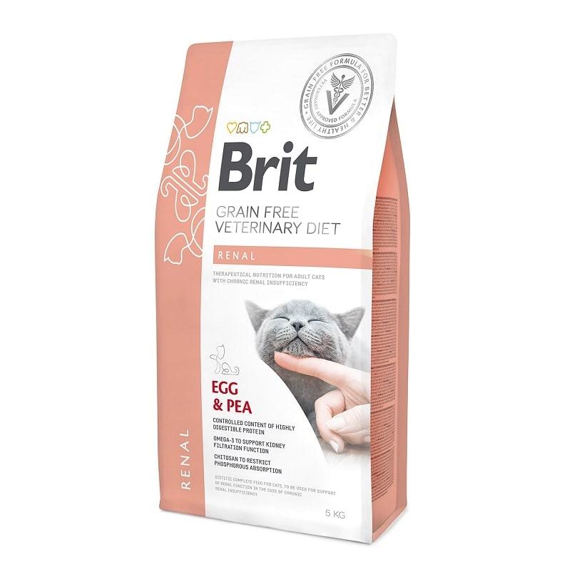 Brit κλινικη διαιτα γατας Renal για νεφρικη ανεπαρκεια