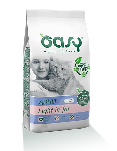 Oasy Light ξηρα τροφη για γατα - υπερβαρες γατες