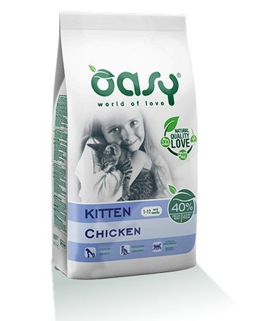 Oasy Kitten ξηρα τροφη για γατακια