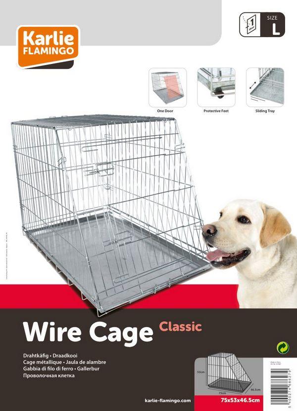 Karlie μεταφορας μεταλλικο κλουβι crate για σκυλους για σπιτι και το αυτοκινητο