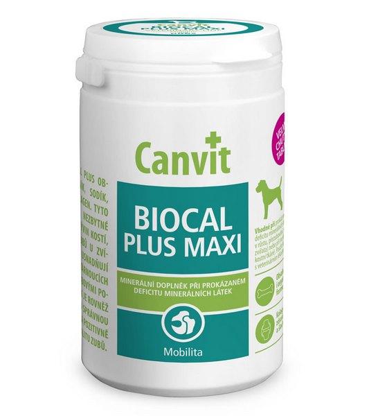Canvit Biocal plus Maxi διατροφικο συμπληρωμα βιταμινες για σκυλο για αποκατασταση σκελετικων προβληματων