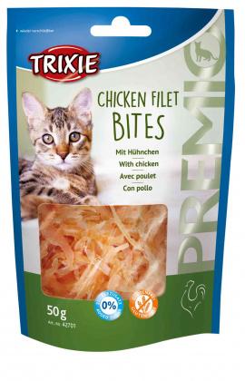 Η Trixie λιχουδια για γατες σνακ Premio Chicken Fillet με κοτοπουλο χωρις ζαχαρη χωρις γλουτενη