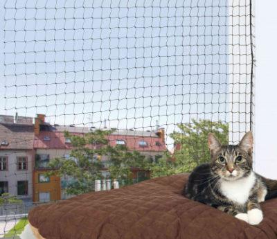 Trixie protective net διχτυ προστασιας γατας προστατευτικο παραθυρου - μπαλκονιου