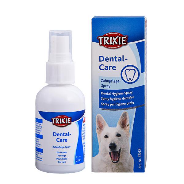Το Trixie spray καθαρισμου δοντιων σκυλων τηςTrixie Dental Hygiene