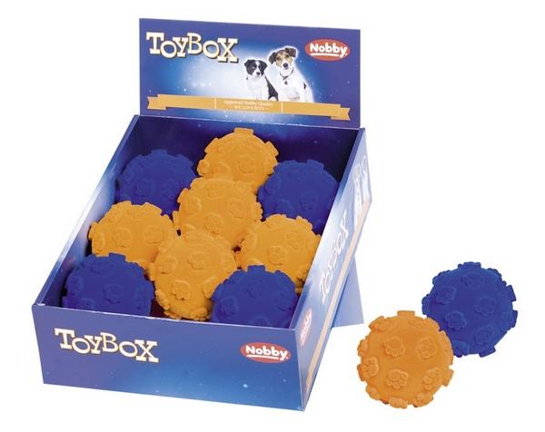 NobbyPaw ball Flocking TPR ανθεκτικο παιχνιδι σκυλων μπαλα με πατουσα