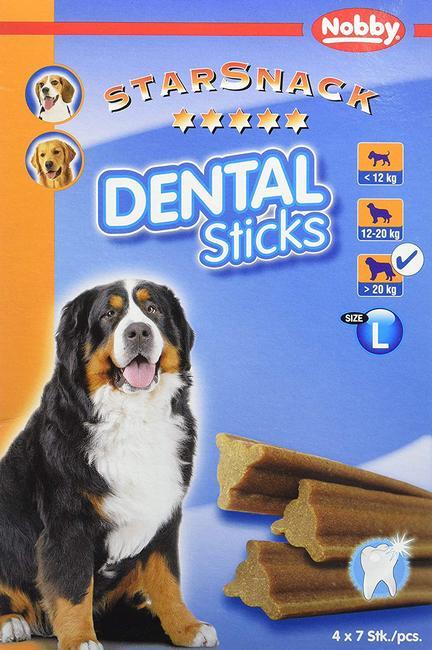 Τα Nobby dental sticksσνακ σκυλου για καθαρισμο δοντιων